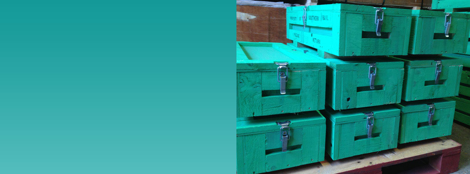 Wooden Crates and Cases